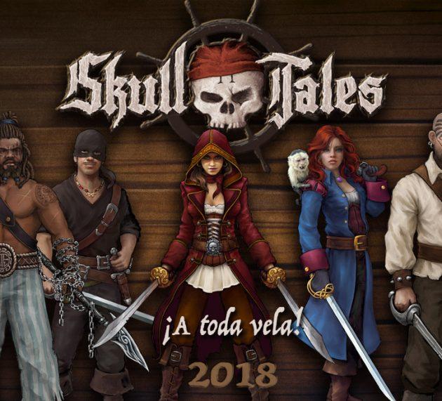 Novedades sobre Skull Tales ¡A toda Vela!