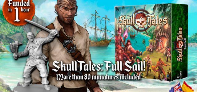 Skull Tales: ¡A toda Vela! (Kickstarter en español)