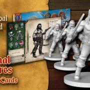 Enemigos Piratas (miniaturas, dibujo y ambientación)