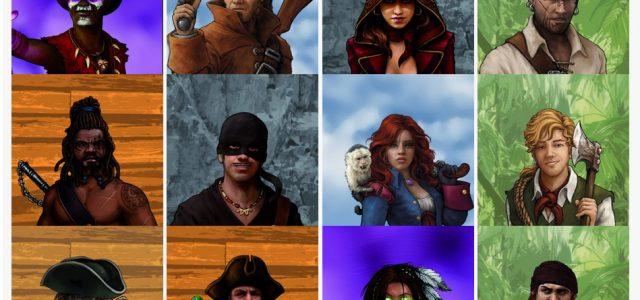 ¿Cuál es tu personaje favorito en Skull Tales:  ¡A toda Vela!?