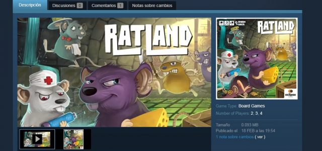 ¡Ratland en Tabletop Simulator!