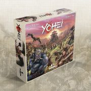 """YOHEI"": the game board, units and hero cards"