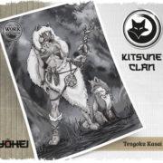 El Clan Kitsune crece. Ayúdanos en RRSS