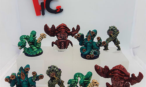 Skull Tales miniatures painted by PlayInColorStudio