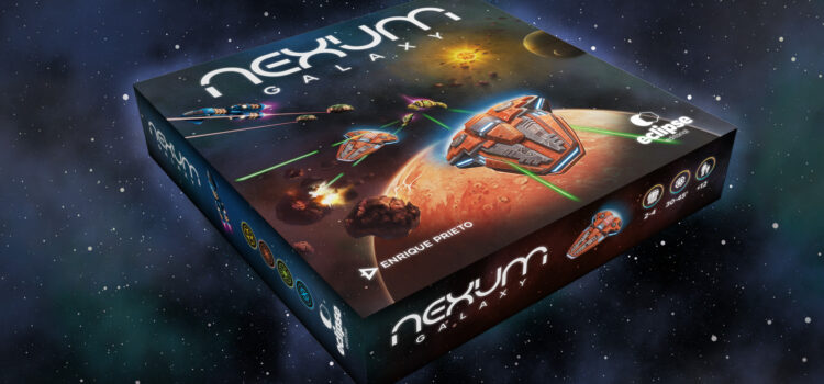NEXUM Galaxy, Juego de Estrategia Extrema de 1 a 4 Civilizaciones