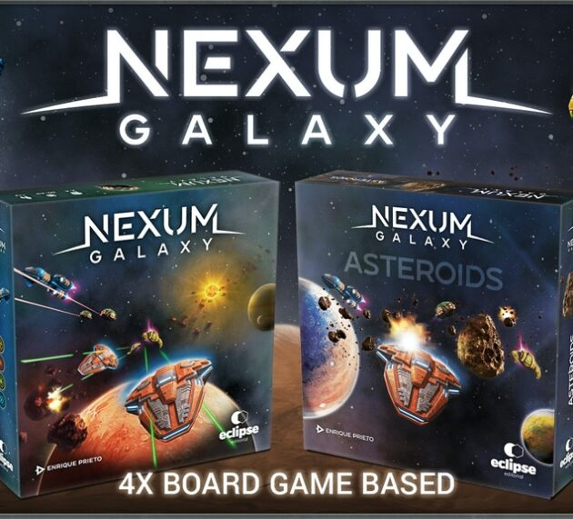 """""""Nexum Galaxy"""" and its expansion """"Nexum Asteroids"""": Interview by Carlos Viforcos to Enrique Prieto (Creator of the game)"""