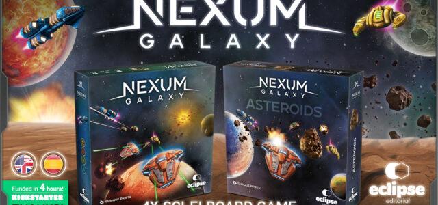 ¡Financiado! ¡NEXUM Galaxy se hace realidad!